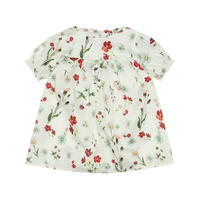 Christina Rohde  /   White Floral Tops
