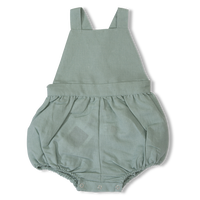 OLIVIER LONDON  /  Linen Marlow Romper - Duck Egg -