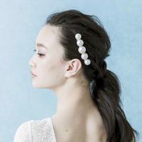 Rosie with biz  海の花(5粒) 18足コーム  WEDDING COLLECTION