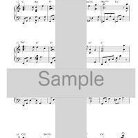 [楽譜]10分間ジャズピアノレッスン「蛍の光」上級編