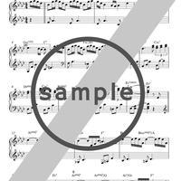 サウンドトラック ソロピアノ譜 4曲セット [楽譜]