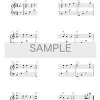 [楽譜]10分間ジャズピアノレッスン「蛍の光」初級編・中級編