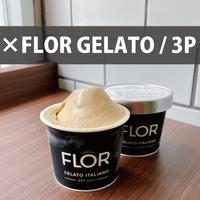 FLOR GELATO ITALIANOコラボジェラート/3個セット