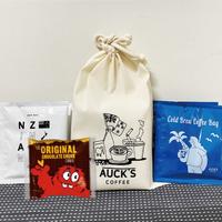 NZ SET/ドリップバッグ2P+コールドブリューバッグ2P+クッキータイム&巾着袋