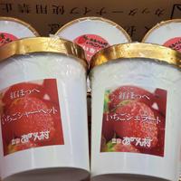 あるぺん村いちごハウス いちごジェラート 【冷凍発送】960ml