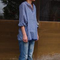 プルオーバーシャツ<17102-BL / BLUE>