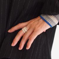 Silver 950  王冠のリング<OKAN>