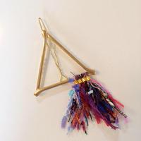 Pyramid Fringe Clip / 090501