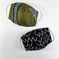 ハンドメイド立体マスク Sサイズ【幼児用】2枚組 / 042904