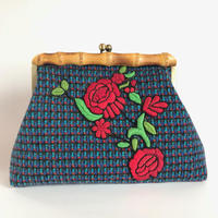 Bamboo Clutch Bag / 2050