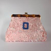 Bamboo Clutch Bag / 1960