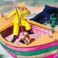 沖釣り漁師のバート・ダウじいさん