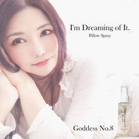冲田杏梨创造的睡眠香气喷雾【限定100个!】 Goddess No.8 冲梦见 (I'm dreaming of it.) 100ml<签字>