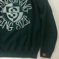 Vintage raglan sweat shirts Forest green