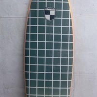 "USED BOARD  6'0""  Circa 80's HIGH/PERFORMANCE ""JENY"" Twin on +2 (Sanded polish)"