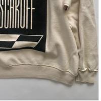 Vintage raglan sweat shirts Natural