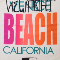 """VENICE BEACH""  Tank Top-Shirts  (White)"