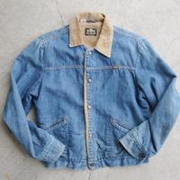 70's Maverick denim boa jacket