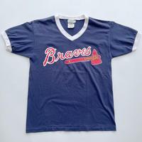 80's Braves jersey tee / 80年代 プリントTシャツ