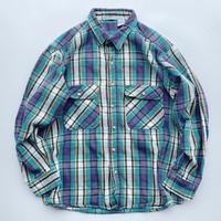 Unknown heavy-flannel shirt / アンノウン ヘビーフランネルシャツ