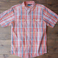 KAVU s/s check shirt