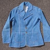 70's wrangler denim tailored jacket