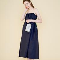 margarin fingers / wrinkle string dress