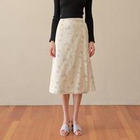 margarin fingers / muscat wrap skirt