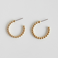 zudritt / beeded hoop pierced