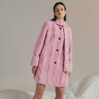 JINJIN ISLAND/ Edie Coat (pink, baby blue, ivory)