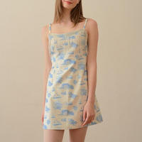 margarin fingers / beads toile one piece