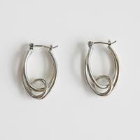 zudritt / tangled silver pierced