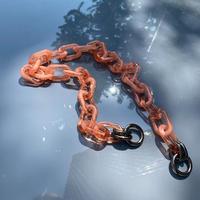 受付終了【YURI SUGANUMA×SAMO ONDOH】momo chain - coral orange