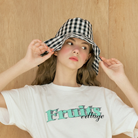 margarin fingers scallop bucket hat