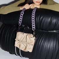 SAMO ONDOH / Strap Bun Bag S (soymilk)