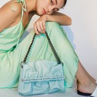SAMO ONDOH / 20° Bun Bag(M )- aqua mint