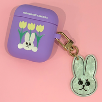 margarin fingers Rabbit tulip air-pod case