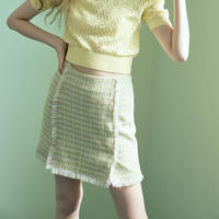 margarin fingers tweed mini skirt