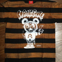 "BLEACH BORDER CUSTOM T's ""ESPY FUCK OFF BEAR"""