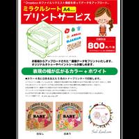 プリント サービス(ミラクルシートA4)