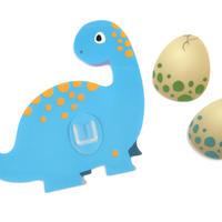シールフック 粘着力強力  可愛い動物デザイン(プロントサウルス)