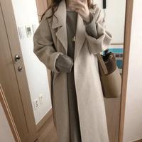 【予約商品】ニュアンス long coat C_01