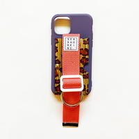 for iPhone【 wood 】purple