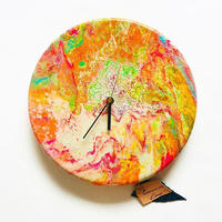 DROPPING PAINT CLOCK  2