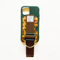 for iPhone【wood 】green
