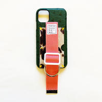 for iPhone【 ost 】green x smoke pink