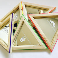 triangle mirror 【collar】