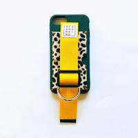 for iPhone【animal 】green × yellow