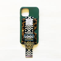 for iPhone【 fabric 】green