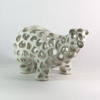 CERAMIC COW  001 - CRAFTED by Athima Tongloom